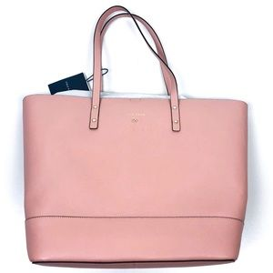 Cole Haan Rose Pink Beckett Leather Tote Bag NWT